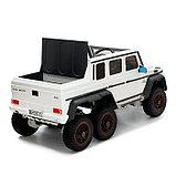 Электромобиль MERCEDES-BENZ G63 AMG 6x6, 6WD полный привод, цвет белый, EVA, фото 5