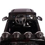 Электромобиль FORD RANGER, цвет чёрный, EVA колёса, кожаное сидение, фото 10