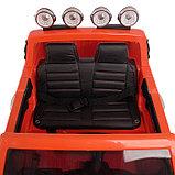 Электромобиль FORD RANGER, цвет оранжевый, EVA колёса, кожаное сиденье, фото 9
