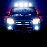 Электромобиль FORD RANGER, цвет оранжевый, EVA колёса, кожаное сиденье, фото 10
