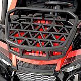 Электромобиль «БАГГИ», максимальная нагрузка 100 кг, АКБ 24V, кожаное сидение, цвет красный, фото 8