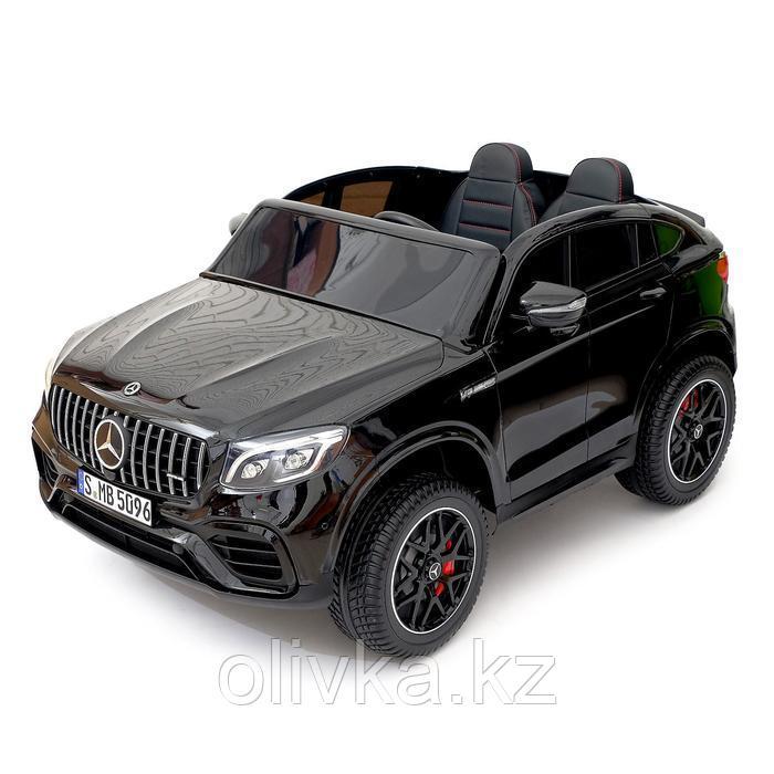 Электромобиль MERCEDES-BENZ GLC 63 S Coupe AMG, 4WD, EVA, монитор, цвет чёрный глянец