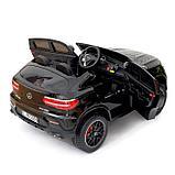 Электромобиль MERCEDES-BENZ GLC 63 S Coupe AMG, 4WD, EVA, монитор, цвет чёрный глянец, фото 3