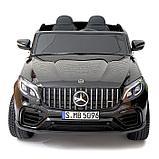 Электромобиль MERCEDES-BENZ GLC 63 S Coupe AMG, 4WD, EVA, монитор, цвет чёрный глянец, фото 4