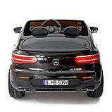 Электромобиль MERCEDES-BENZ GLC 63 S Coupe AMG, 4WD, EVA, монитор, цвет чёрный глянец, фото 5