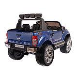Электромобиль FORD RANGER NEW, 4WD полный привод, окраска глянец голубой, фото 3