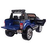 Электромобиль FORD RANGER NEW, 4WD полный привод, окраска глянец голубой, фото 4