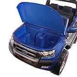 Электромобиль FORD RANGER NEW, 4WD полный привод, окраска глянец голубой, фото 8