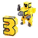 Набор роботов «Алфавит». звуковые эффекты, 7 роботов-букв, собираются в 1 робота, фото 6