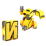 Набор роботов «Алфавит». звуковые эффекты, 7 роботов-букв, собираются в 1 робота, фото 7