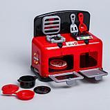 """Игровой набор мини-кухня """"Мамина помощница"""" с комплектующими, Минни Маус, фото 4"""