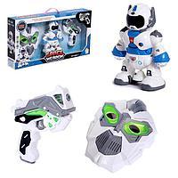 Набор игровой «Космический герой»: маска, робот, пистолет