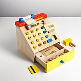 Детская развивающая игрушка «Касса» 22×22×22 см, в пакете, фото 2