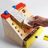 Детская развивающая игрушка «Касса» 22×22×22 см, в пакете, фото 3