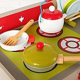 Игровой набор «Стильная кухня», посудка в наборе, фото 7
