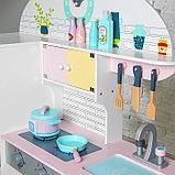 Игровой набор «Кухонный модуль «Счастье»» с деревянной посудой, фото 2