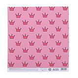Бумага для скрапбукинга «Мир принцессы», 20 × 21,5 см, 180 г/м, фото 3