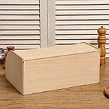 "Хлебница деревянная ""Буханка"", 38×24.5×16.5 см, фото 3"