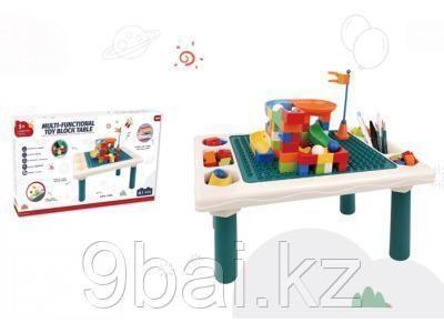 PITUSO  Стол для игры с конструктором, в компл. с конструктором