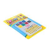Грим для лица и тела, 8 карандашей и 8 цветов + 2 аппликатора, фото 2