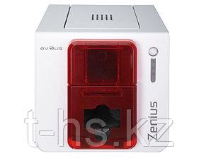 Evolis ZN1U0000RS Сублимационный принтер Zenius для печати на картах, базовый, USB, красный.