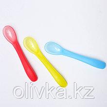 Набор ложка для кормления, цвет МИКС