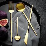 Набор из двух столовых приборов «Еда как искусство», 22,5 х 8 см, фото 3