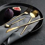Набор из двух столовых приборов «Еда как искусство», 22,5 х 8 см, фото 4