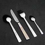 Набор столовых приборов «Реиджо», 24 предмета, в кейсе, фото 3