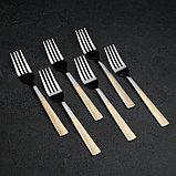 Набор столовых приборов «Реиджо», 24 предмета, в кейсе, фото 6