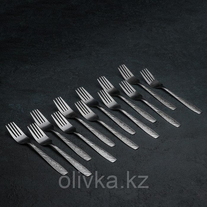 Набор вилок столовых «Паритто», 18 см, 12 шт