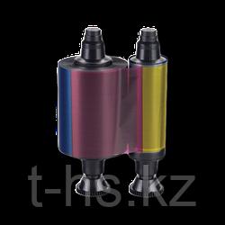 Evolis R3013 Экономичная полупанельная лента для полноцветной печати YMCKO, 400 отпечатков