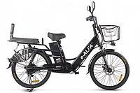 Велогибрид Green City E-Alfa Lux (Черный)