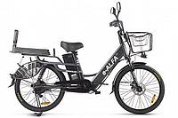 Велогибрид Green City E-Alfa Lux (Темно-серый)