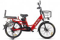 Велогибрид Green City E-Alfa Lux (Красный)