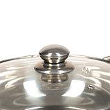Жаровня «Гретель», 26×10 см, стеклянная крышка, фото 3
