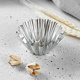 Набор форм для выпечки, d-8 х 4 см , v-4 см, 10 шт, фото 2