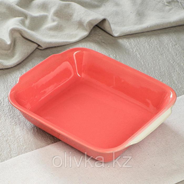 """Форма для запекания """"Судок"""", фламинго, 720 мл"""