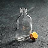 Бутылка, 100 мл, 6,5×3×13 см, фото 2