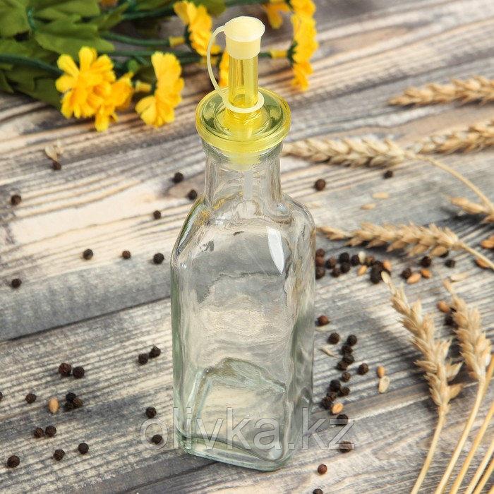 Бутыль для масла и уксуса Доляна «Классик», 200 мл, 20 см, цвет МИКС