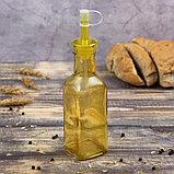 Бутыль для соусов и масла Доляна «Галерея», 200 мл, 19 см, цвет МИКС, фото 2