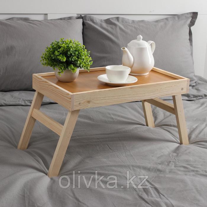 Столик для завтрака складной, 50×30см