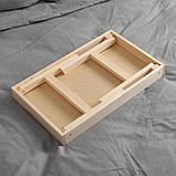 Столик для завтрака складной, 50×30см, фото 4