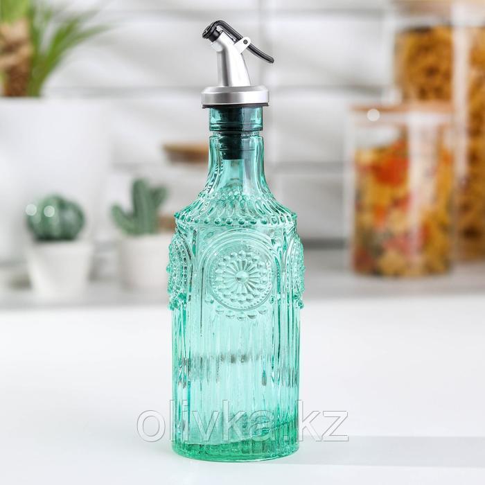 Бутыль для масла «Ларго», 340 мл, цвет зелёный