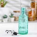 Бутыль для масла «Ларго», 340 мл, цвет зелёный, фото 2