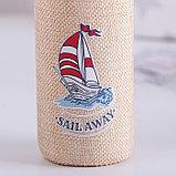 Бутылка «У моря», 300 мл, рисунок МИКС, фото 9
