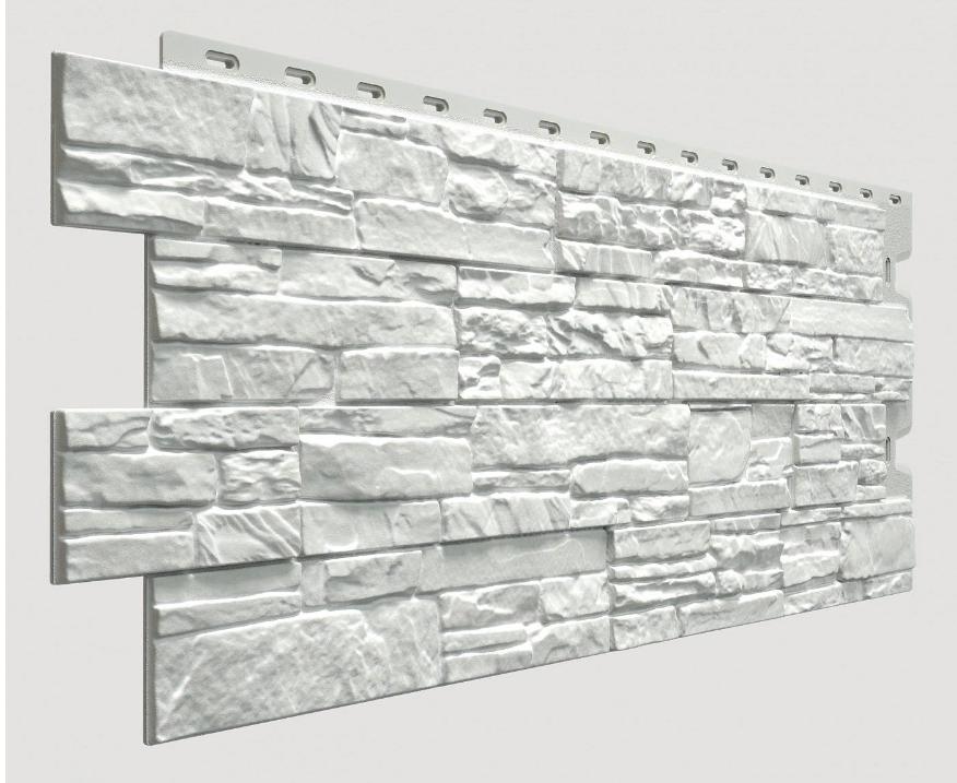 Фасадные панели STEIN Дёке Молочный 1098x400 мм