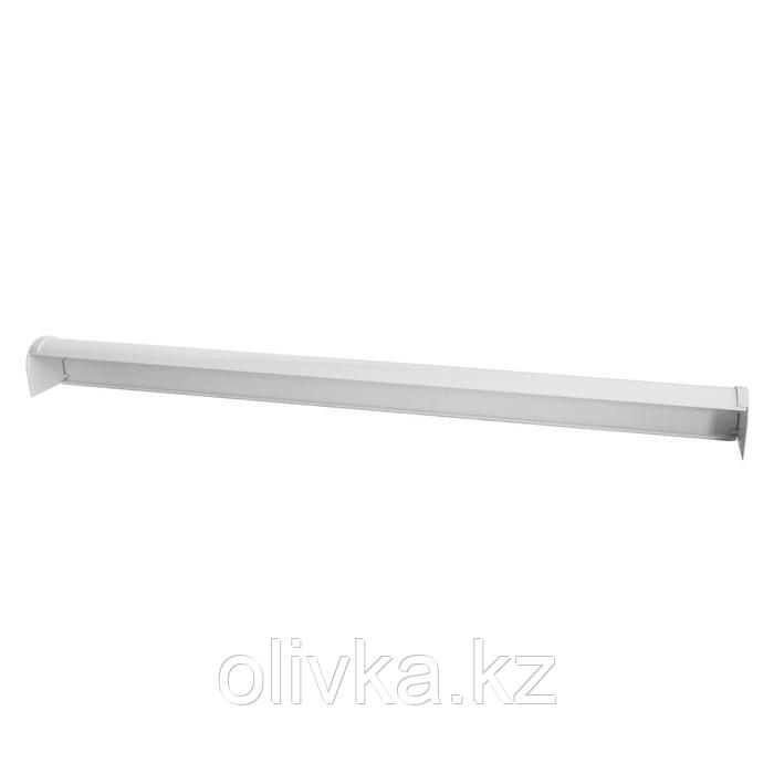 Кассета для рулонной шторы «МИНИ», 120 см, цвет белый