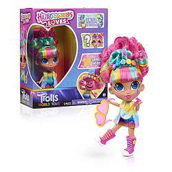 Кукла Хэрдораблс любит троллей Hairdorables Loves Trolls World Tour