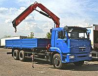КАМАЗ 65115 бортовой с КМУ FASSI F195A.0.25)
